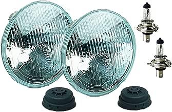 HELLA 002395801 Vision Plus 165mm 12V High/Low Beam Halogen Conversion Headlamp Kit (H4 ECE)