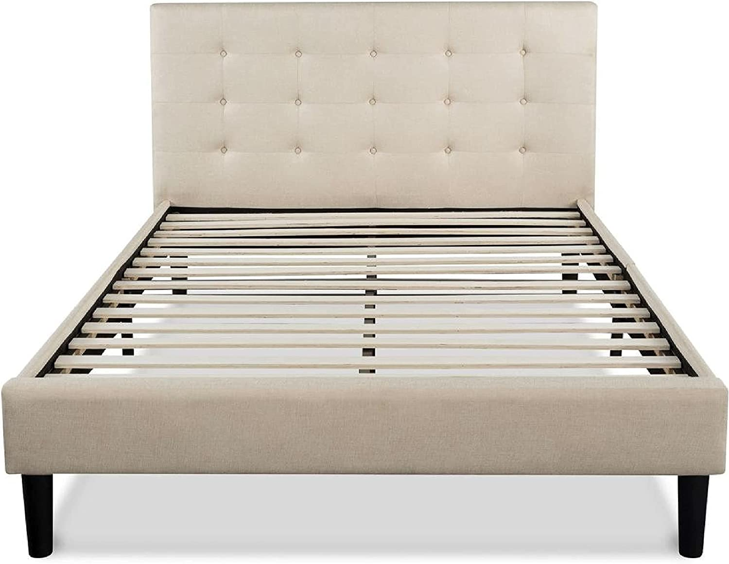 Platform Bed trust King size Frame with Butt Upholstered Max 87% OFF