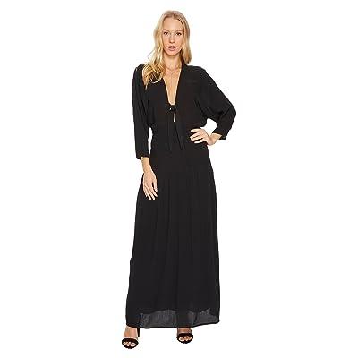 Amuse Society Sunset Row Dress (Black) Women