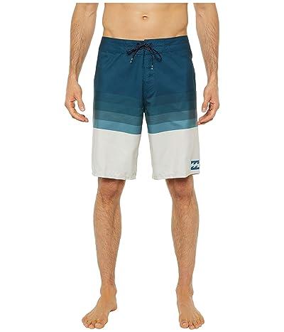 Billabong Platinum Stripe Boardshorts (Navy) Men