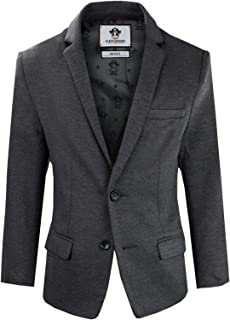 Black n Bianco Boys' Twill Blazer Jacket Formal or Casual Presented by Captin Baby Milan
