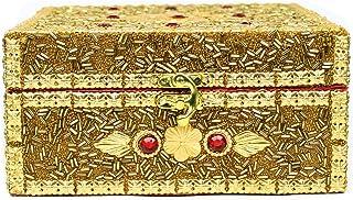 Portable Bridal Jewelry Storage & Organizer Case Cabinet Armoire Box | Ring Necklace Bangles Storing Unit | Nagina Interna...