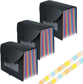 Trieur A4 3 Pièces 24compartiments/Range Document/Rangement Papier - ABClife Trieur Valisette Rangement documents Classeur...