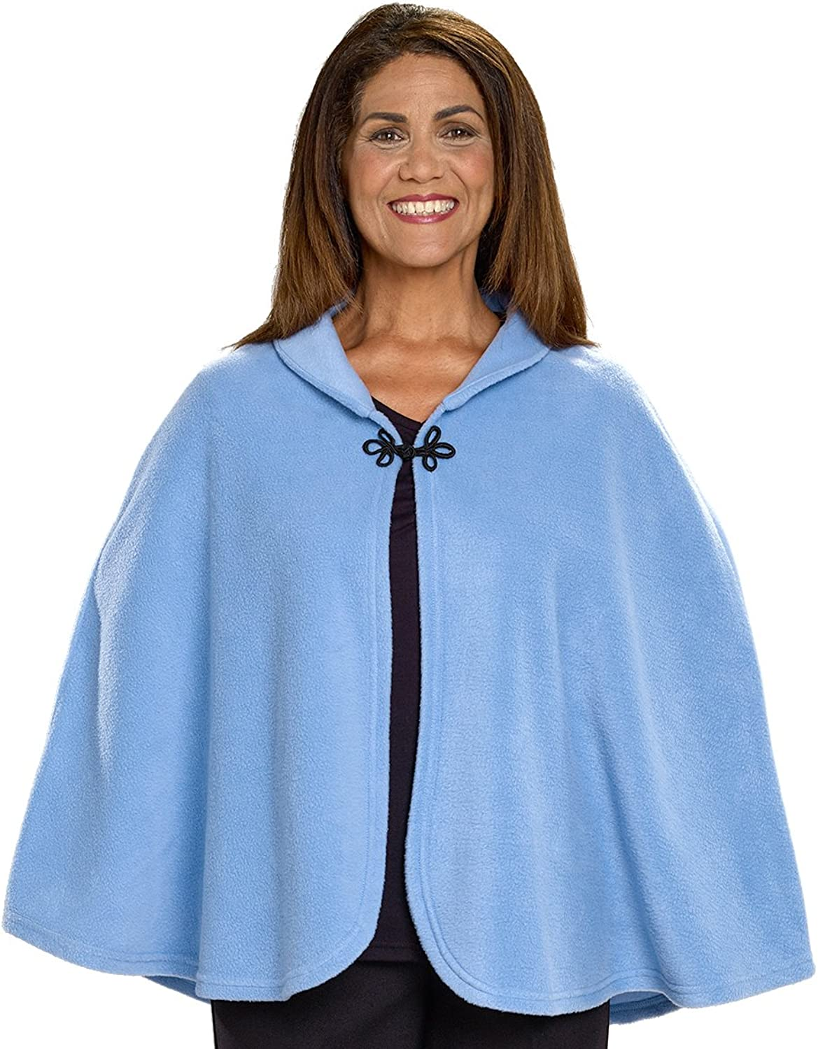 Silgreens Disabled Adults & Elderly Needs Womens Warm Bed Jacket Cape Or Bed Shawl