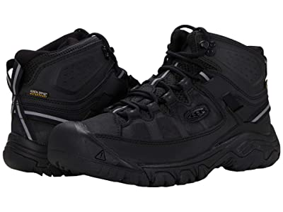 KEEN Targhee Exp Mid WP (Black/Black) Men