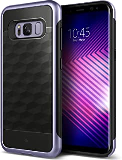 Caseology Parallax for Samsung Galaxy S8 Plus Case (2017) - Black/Orchid Gray