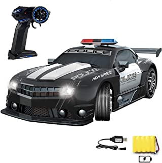 Best Haktoys Remote Control Police Car, Radio RC Hot Pursuit Cop Chase, Super Fast 1:12 Scale Patrol Vehicle, Parent Friendly - No Siren Sound or Flashing Lights Review