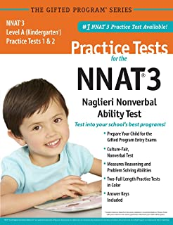 NNAT3® 2 Practice Tests Level A (Kindergarten) in Color_ Publisher of the #1 CogAT® Practice Test
