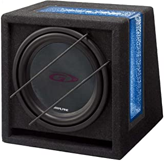 Alpine SWG-844BR 400W Band Pass G Series Subwoofer with High Grade Enclosure