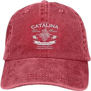 Mama Needs Wine Fashion Adjustable Cowboy Cap Denim Hat for Women and Men