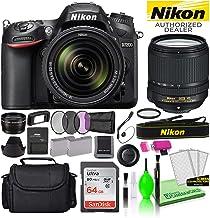 Nikon D7200 24.2MP DSLR Digital Camera with 18-140mm VR Lens (1555) USA Model Deluxe Bundle Kit -Includes- Sandisk 64GB SD...