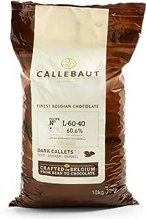 Callebaut Dark Chocolate (60.6%) : 22 LB (22 pound)