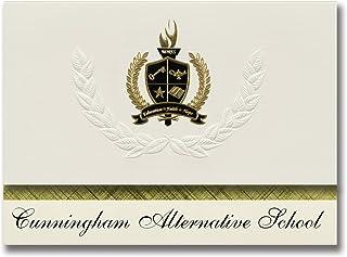 Signature Announcements Cunningham Alternative School (Vineland, NJ) Graduation Announcements, Presidential style, Basic p...