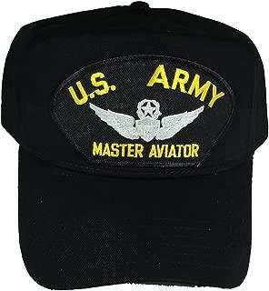 U.S. ARMY MASTER AVIATOR W/ WINGS HAT - BLACK - Veteran Owned Business