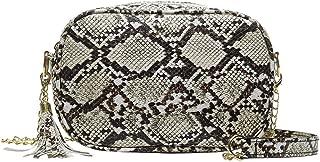 Outique Fashion Chain bag Lady Snake Pattern Tassels Versatile Waterproof Vintage Shoulder Bag Messenger Bag Rugged