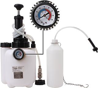 CCLIFE Purgado de líquido de embrague y freno 3L Purgador de frenos manual