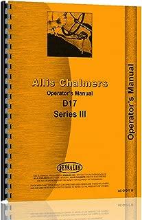 Best allis chalmers d17 operators Reviews