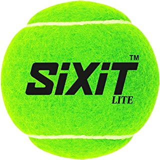 KD Sixit Cricket Tennis Ball Light Weight, Made of Rubber for Cricket Training, Tennis Training, Cricket Rubber Lite and H...