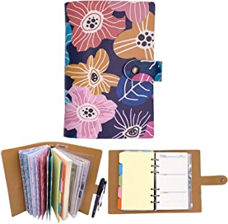rnairni Cash Envelopes Notepad for Budget System, Money Envelope Notebook for Budgeting and Saving with Weekly & Monthly P...