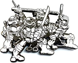 All Four Comic Brothers: Teenage Mutant Ninja Turtles Collectible Mega Pin