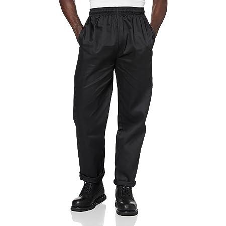 Whites Chefs Apparel A582-M Vegas Black Chefs Trousers, Size M