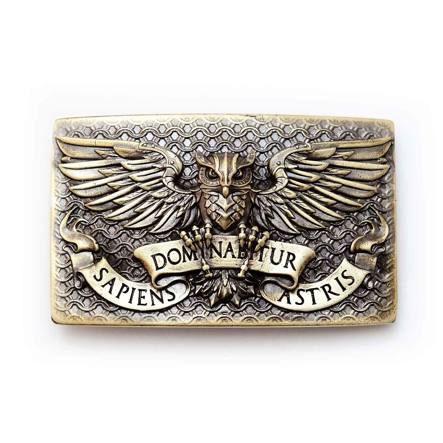Fighting Spasm price Eagle SEAL limited product Owl belt buckle Bub bird fighting Wild