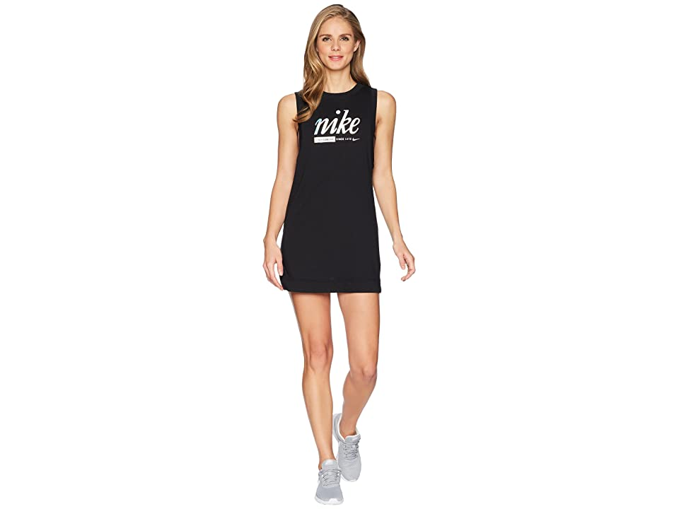 Nike Sportswear Metallic Dress (Black) Women