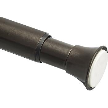 "AmazonBasics 1009990-660-A60 Tension Curtain Rod, 54-90"", Bronze"