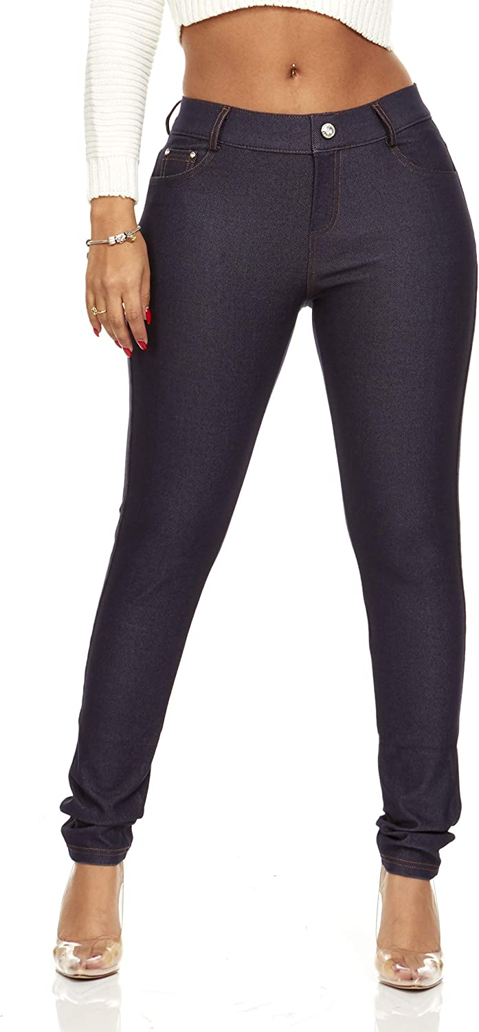 YDX Smart Jeans Outstanding Fancy Stretchy Five Jeggings Pant Max 50% OFF Pull Pocket On