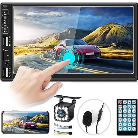 2 Din Autoradio Vivavoce Bluetooth, Zijin 7'' HD Lettore Mp5 Per