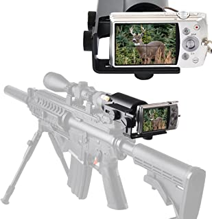 Gosky Scope Cam Adapter - Scope Camera Mount for Rifle Scope Gun Scope Airgun Scope - for Compact Camera Casio Sony Canon Nikon Fujifilm Leica -Record Hunt in The Camera