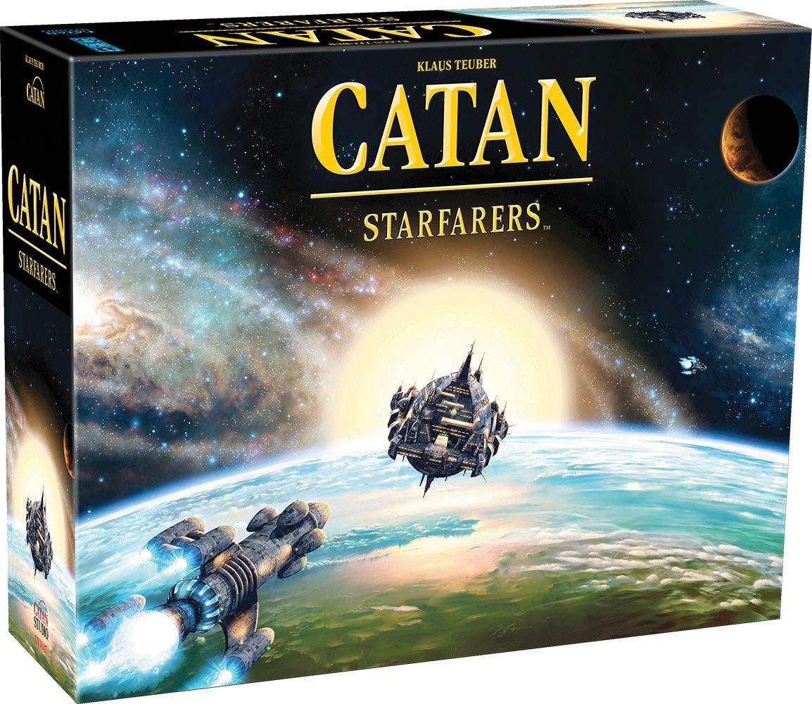 Catan Starfarers Segunda Edición | 3-4 Jugadores 120 Minutos | Paquete con Productos de Nuevo: Amazon.es: Juguetes y juegos