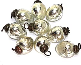 BD Crafts Antique Mercury Glass Ornaments