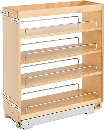 Amazon Com Wood Pull Out Organizers Cabinet Drawer