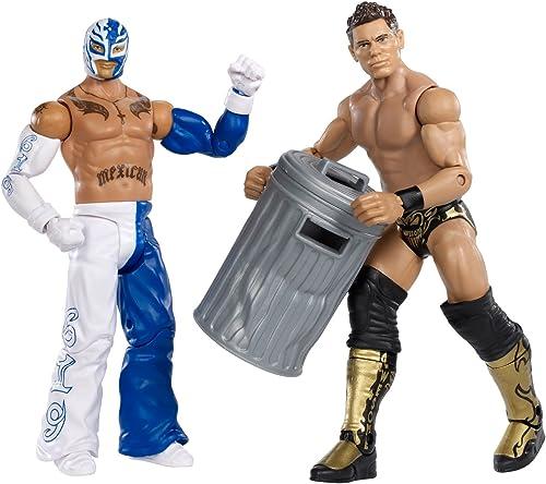 WWE Rey Mysterio vs. The Miz Figur 2er Pack Serie 17