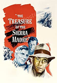 Fred C Dobbs The Treasure of the Sierra Madre Mosaic Framed Limited Edition Art