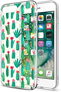 Pnakqil Funda iPhone 8 Plus / 7 Plus Silicona 3D Transparente con