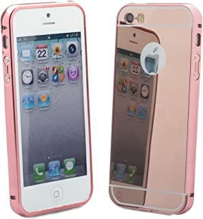 iCues   Compatible with Apple iPhone SE / 5S / 5   Amarillo Case Rose   Cover Shell Shookproof