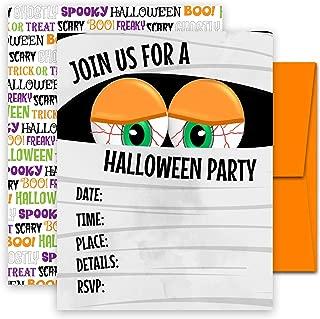 costume halloween party invitations