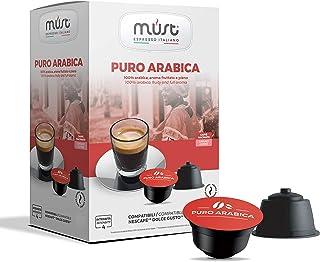 MUST 96 Självskyddade Kaffekapslar i 100% återvinningsbar Arabisk Blandning av Plast INTENSITET 6/8 Förpackningar med 16 K...