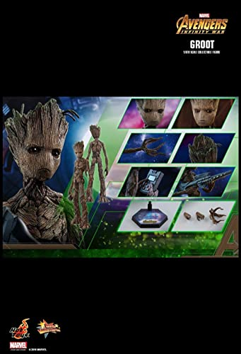 Hot Toys MMS475 - Marvel Comics - Avengers 3   Infinity War - Groot