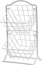 Gourmet Basics by Mikasa 5246301 General Store 2 Tier Hanging Basket, White