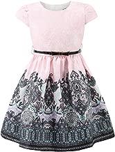 childdkivy Girls Autumn Dresses Floral Shift Dress Party Princess
