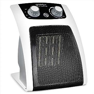 gridinlux. Homely Airpro 1500. Calefactor Cerámico. 3 Modos, Termostato Regulable, Sistema de Seguridad, Calor bajo Consumo, diseño Vertical.