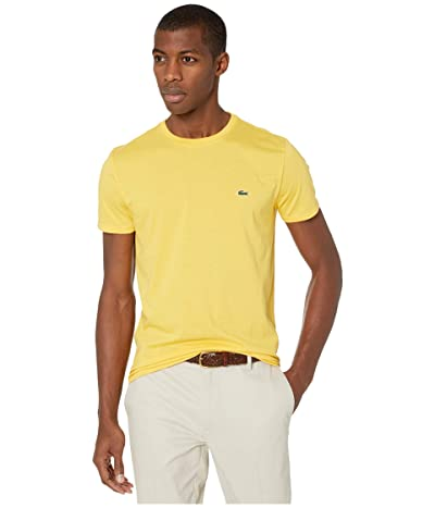 Lacoste Short Sleeve Pima Crew Neck T-Shirt (Daba) Men