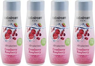 SodaStream Cranberry Raspberry Zero Calorie, 440ml 4-Pack