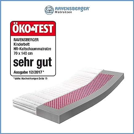 RAVENSBERGER Kinderbett HR Kaltschaummatratze 70 X 140 Cm