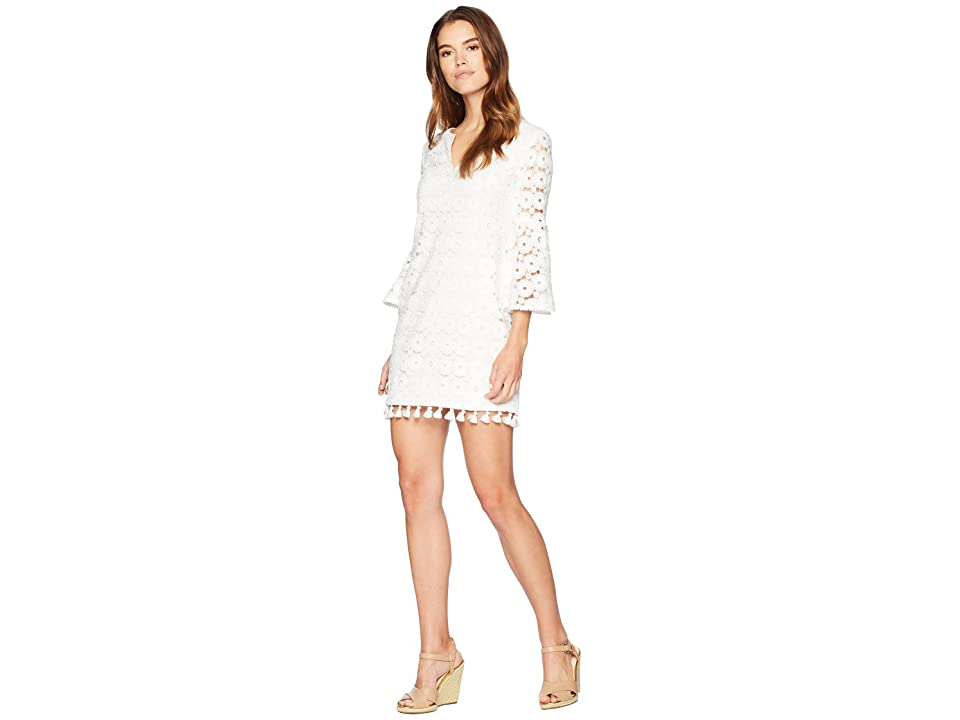 Trina Turk Loomis Dress (Whitewash) Women