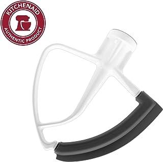 KitchenAid Tilt Head Flex Edge Beater, 4.5/5 Quart, White