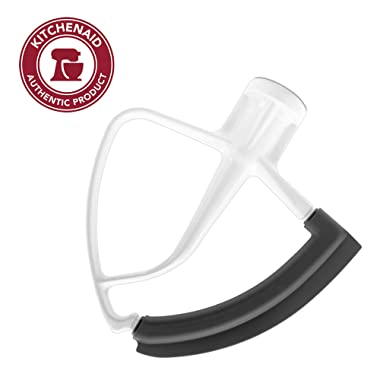 KitchenAid Tilt Head Flex Edge Beater, 4.5/5 Quart, White